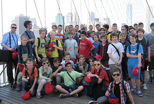 Brooklyn Bridge New York, Konzertreise USA 2014