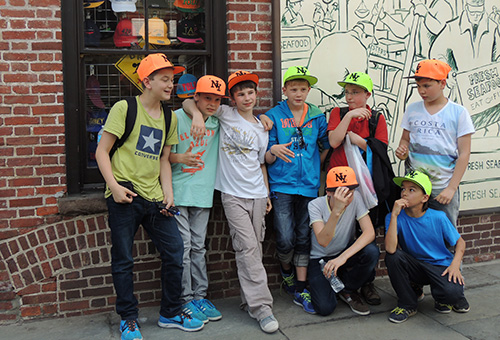 New York Gang, Konzertreise USA 2014