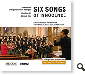 CD-Cover: Six Songs of Innocence